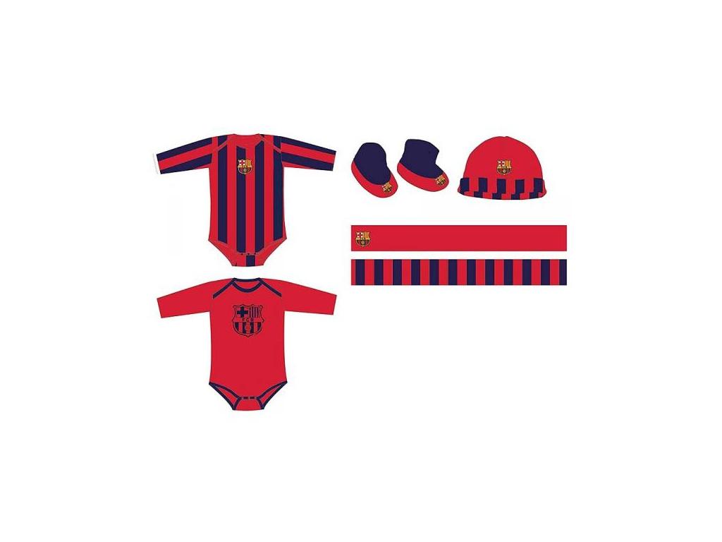 Dárkový novorozenecký set FC Barcelona 18