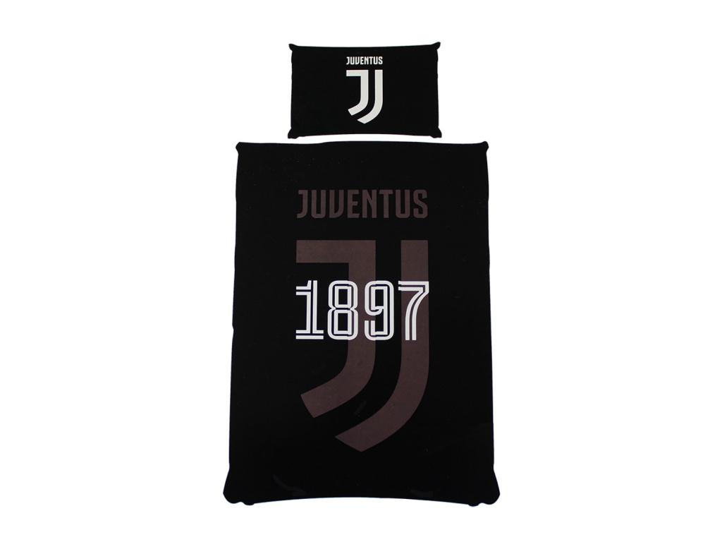 Povlečení Juventus Turín 18 black 135/200, 50/75cm
