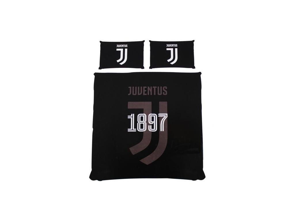 Povlečení Juventus Turín na dvojlůžko 200/200, 2x 50/75cm