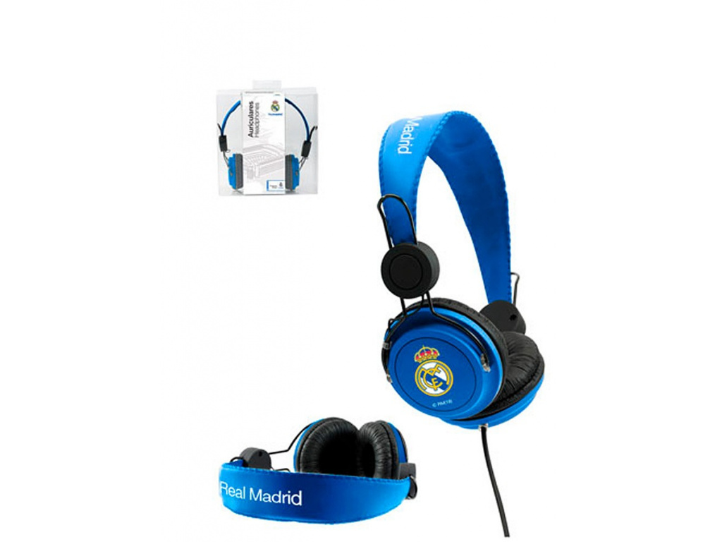 Sluchátka FC Real Madrid blue