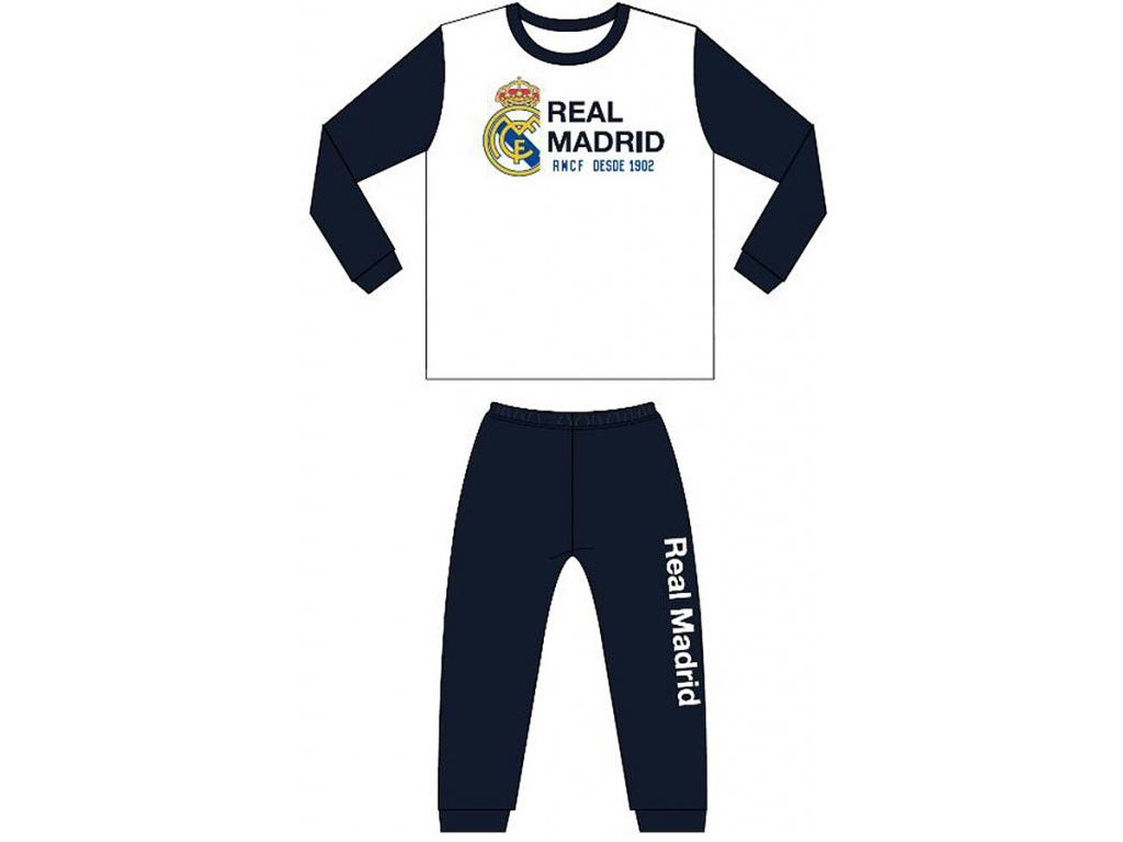 Dětské pyžamo Real Madrid bílé