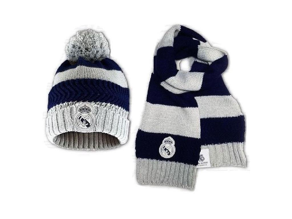 Dětský zimní set FC Real Madrid grey
