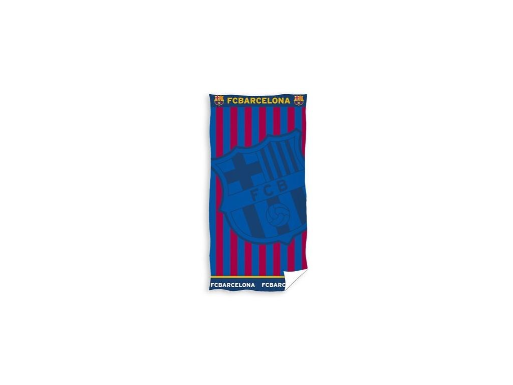 Luxusní osuška FC Barcelona 19 žakard 85x160cm