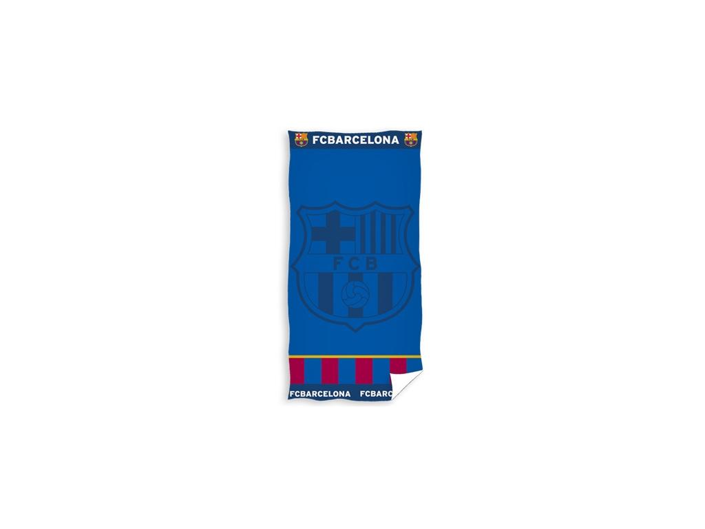 Osuška FC Barcelona 19 žakard 70x140cm