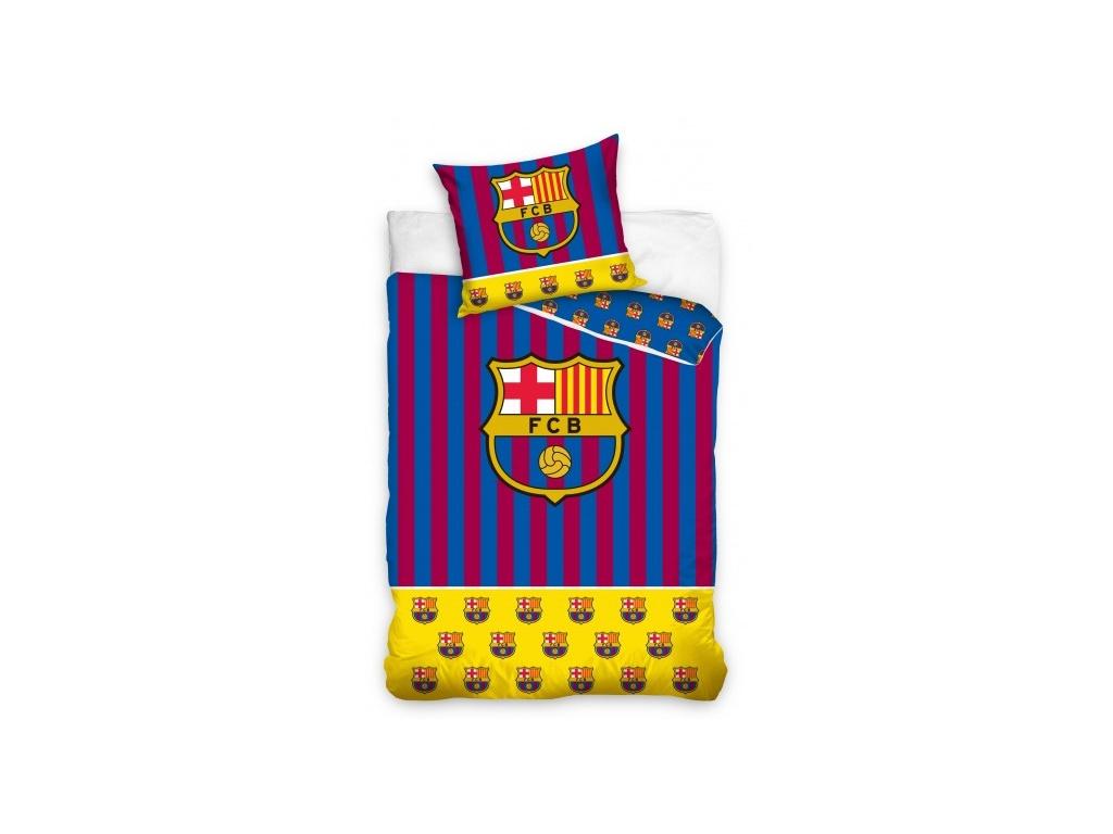 Povlečení FC Barcelona 19 yellow 140/200, 70/80 cm