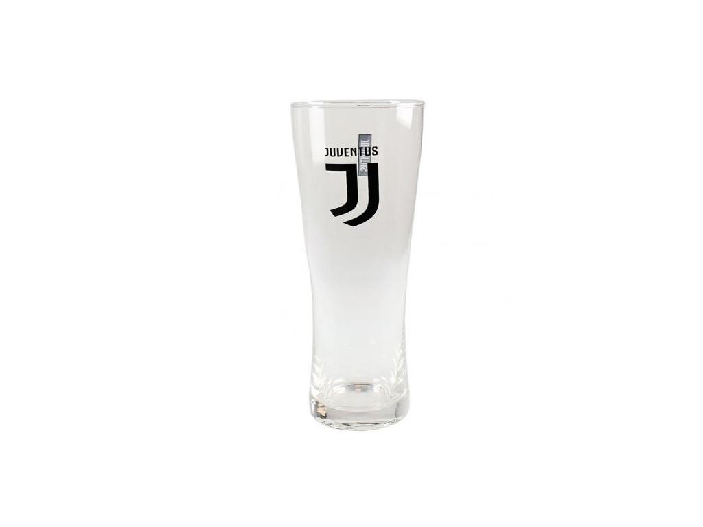 Vysoká pivní sklenice Juventus crest 550 ml