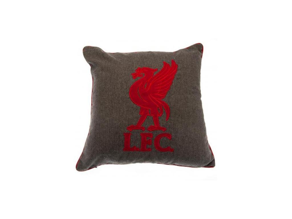 Polštářek Liverpool FC 42x42 cm grey