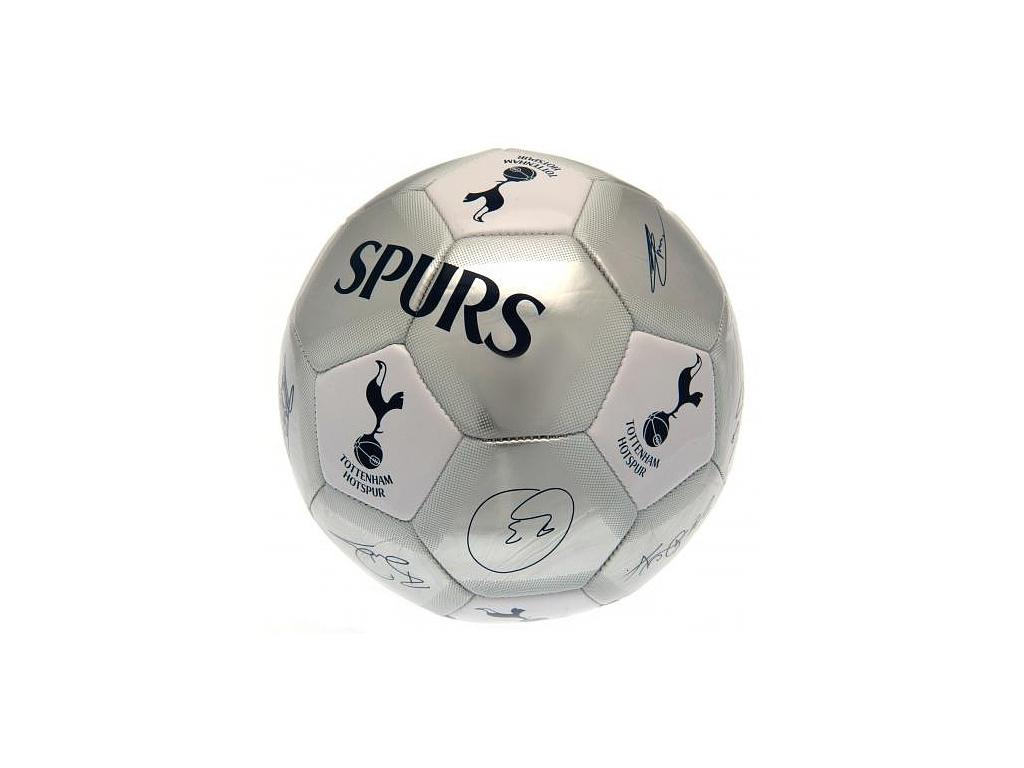 Fotbalový míč Tottenham Hotspur 19 podpisy vel.5