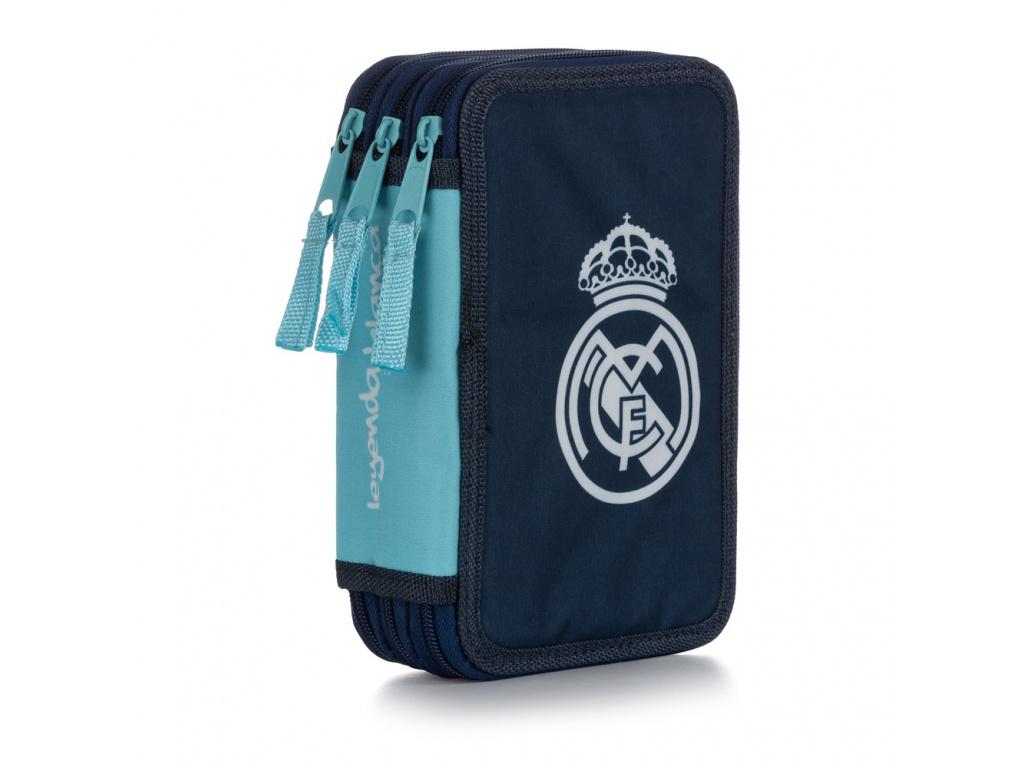 Penál 3 p. prázdný Real Madrid
