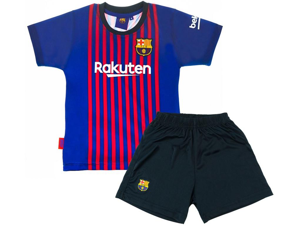 Set dres a šortky FC Barcelona Messi domácí 2018/19