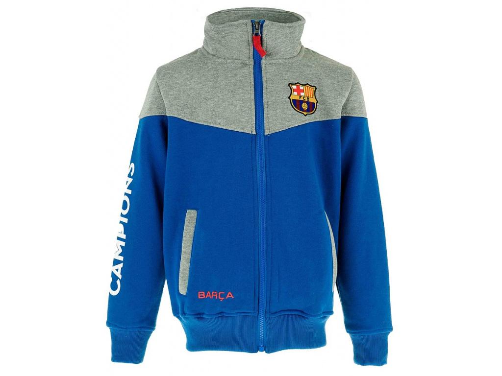Dětská mikina FC Barcelona 18 blue