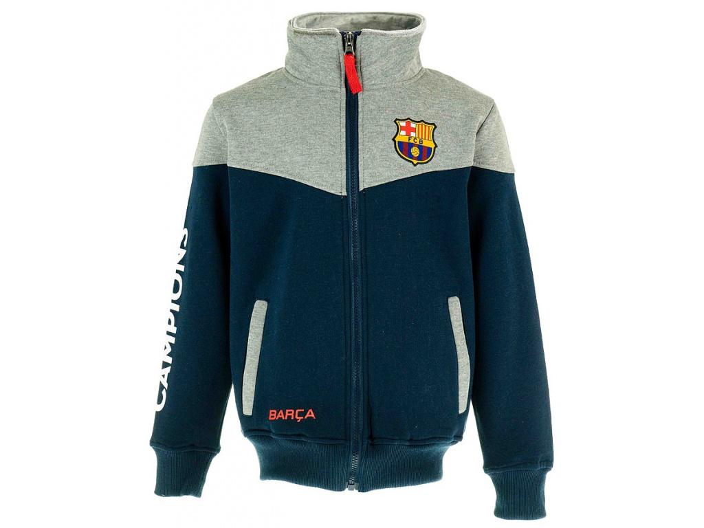 Dětská mikina FC Barcelona 18 navy