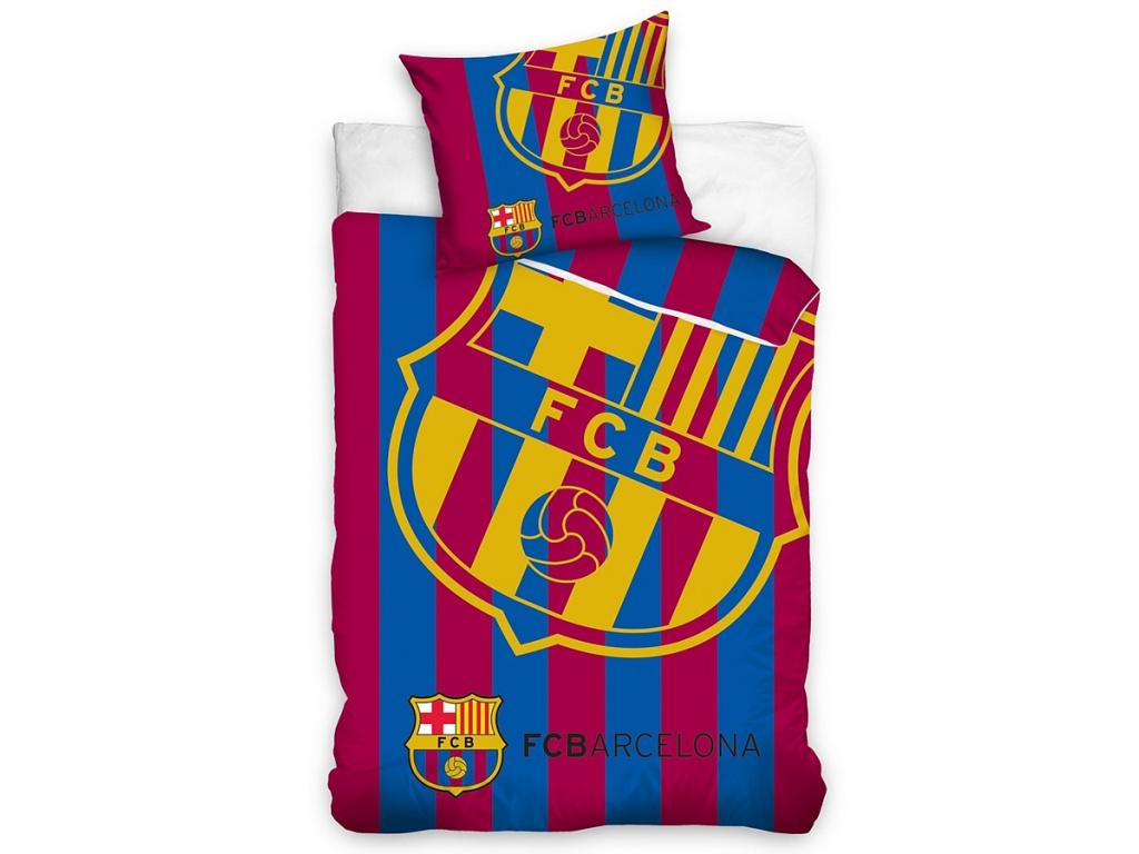 Povlečení FC Barcelona bar 140/200, 70/80 cm