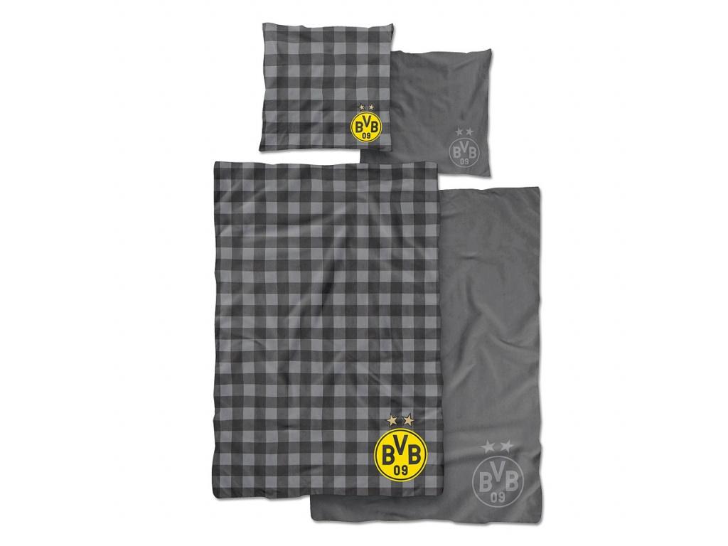 Povlečení Borussia Dortmund 135x200 cm oboustranné