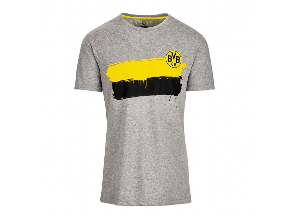 Pánské tričko Borussia Dortmund šedé