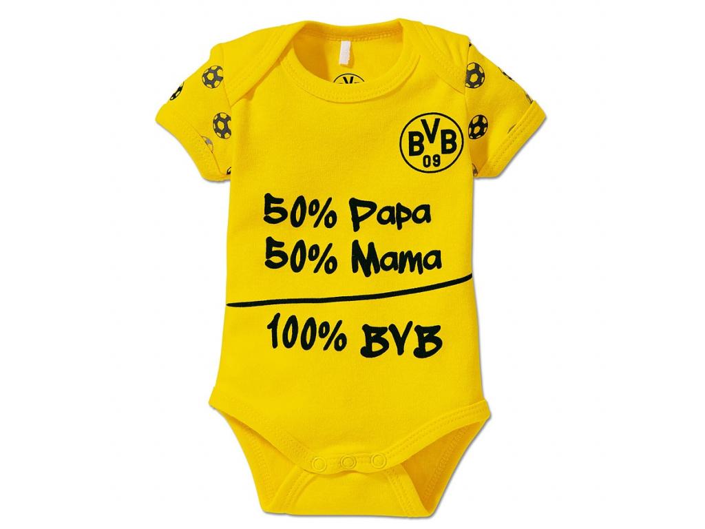 Kojenecké body Borussia Dortmund žluté