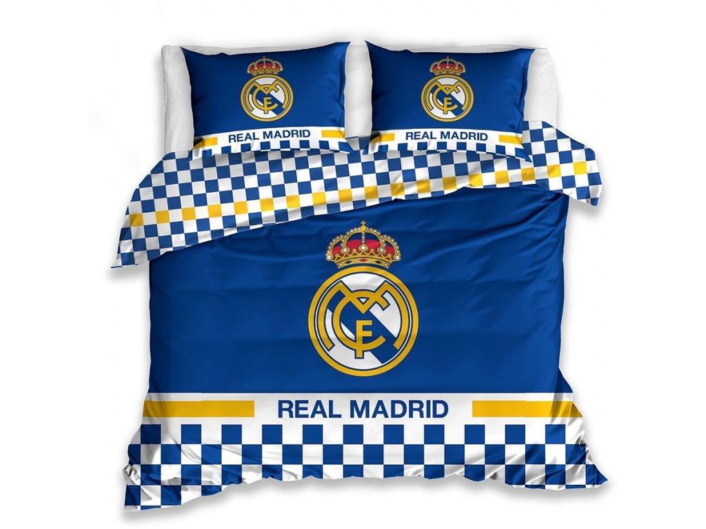 Povlečení Real Madrid FC blue 220/200, 70/80 cm