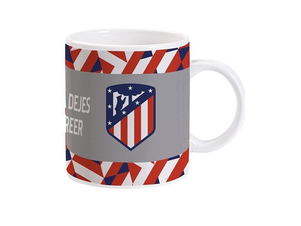 Hrnek Atletico Madrid gris 330ml
