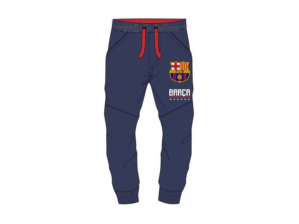 Dětské tepláky FC Barcelona 18 navy