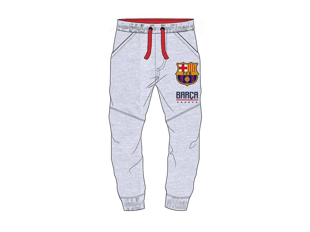 Dětské tepláky FC Barcelona 18 šedé