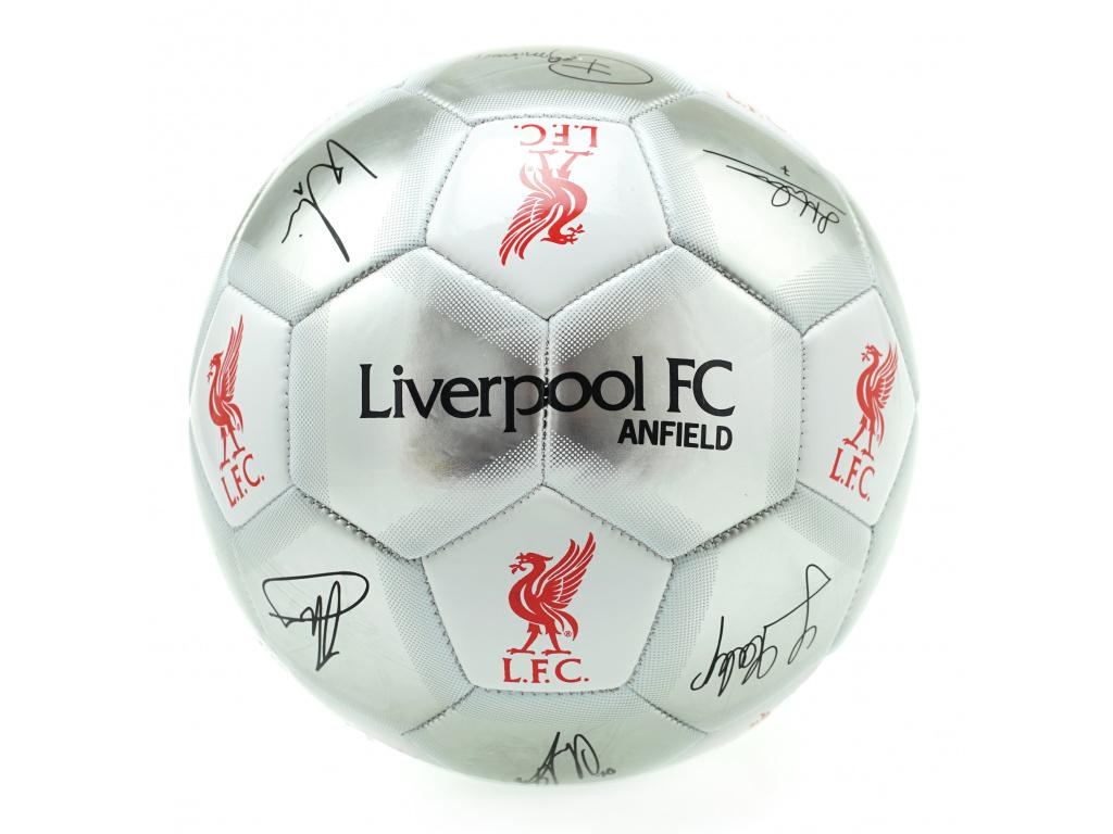 Fotbalový míč Liverpool 18 sv podpisy