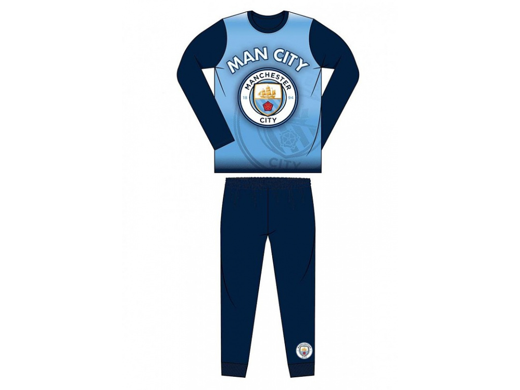 Pyžamo Manchester City 18 printed jr