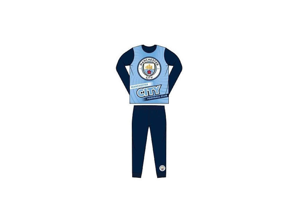 Pyžamo Manchester City 18 printed dark jr