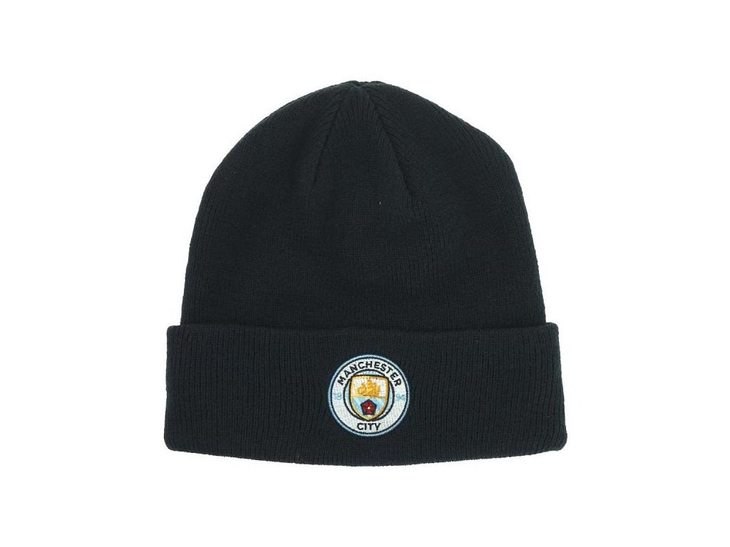 Zimní čepice Manchester City TU navy