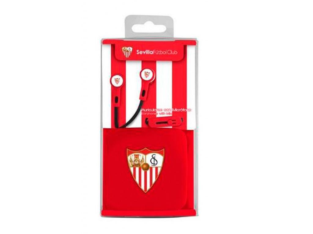 Sluchátka FC Sevilla pecky