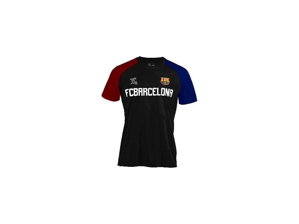 Tričko FC Barcelona training 18 černé