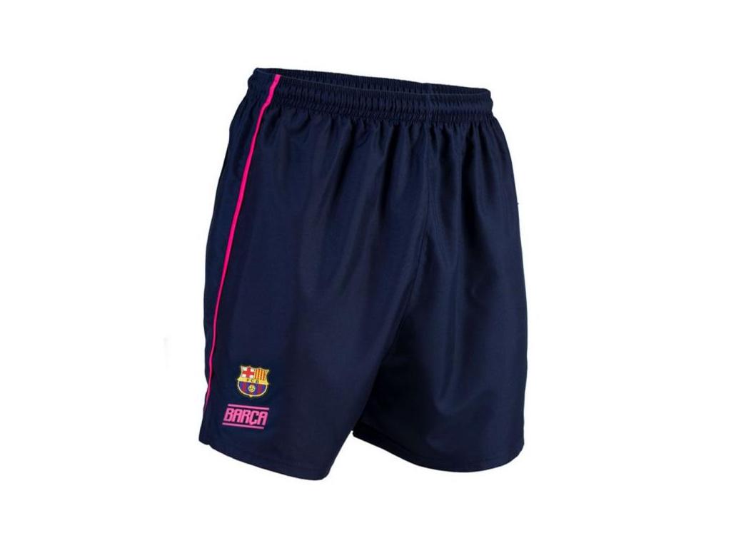 Šortky FC Barcelona training fucsia
