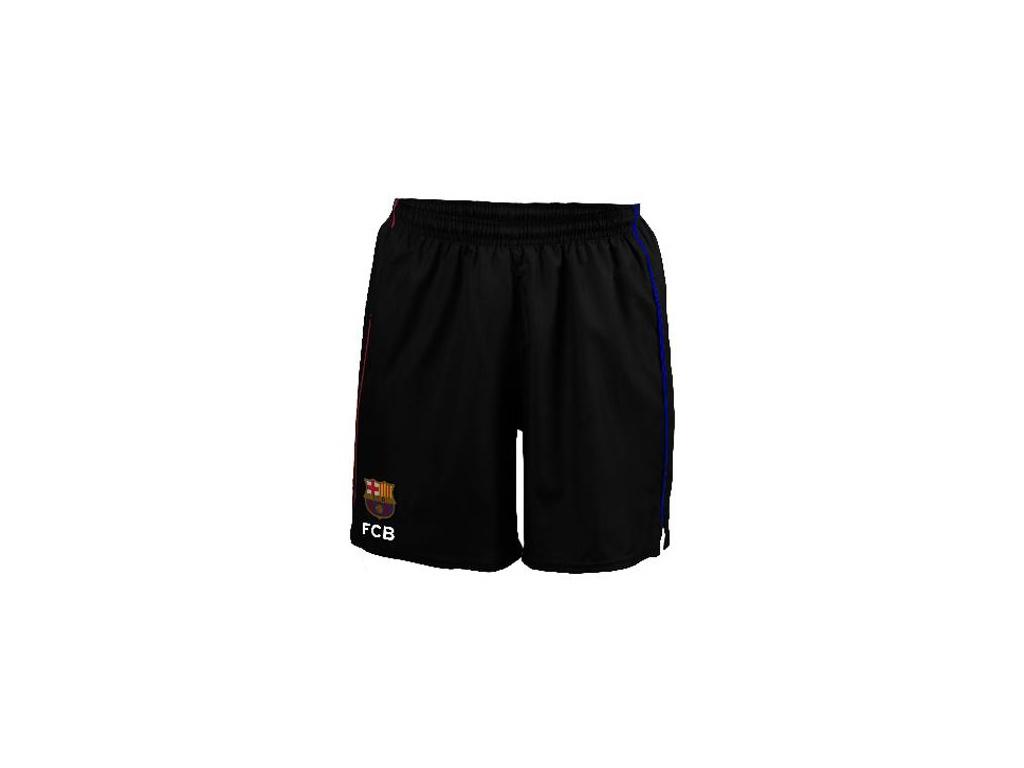 Šortky FC Barcelona training černé