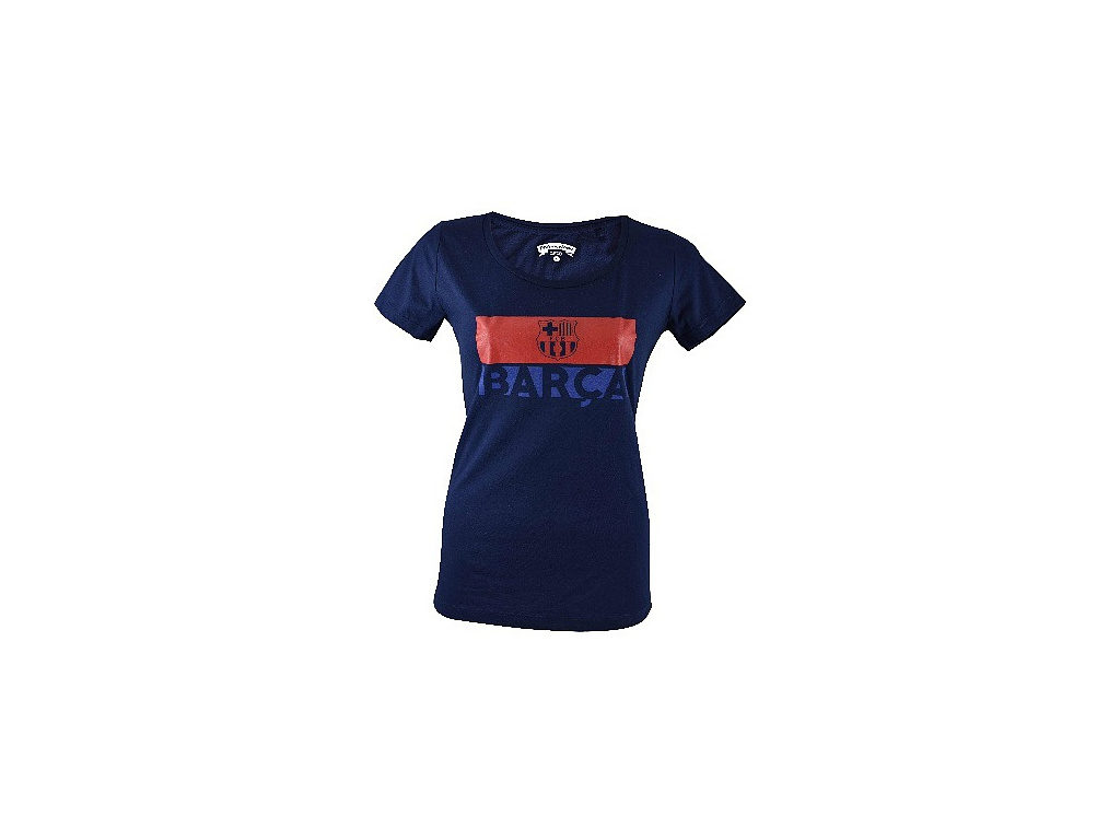 Dámské tričko FC Barcelona navy