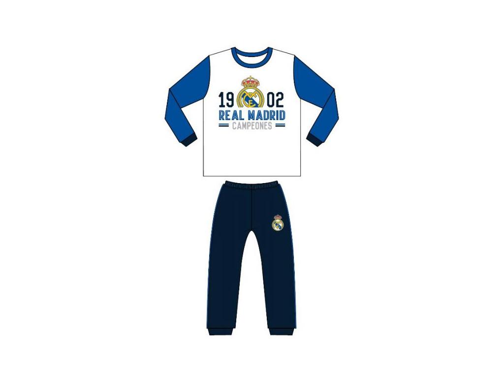 Pánské pyžamo Real Madrid 18 bílé
