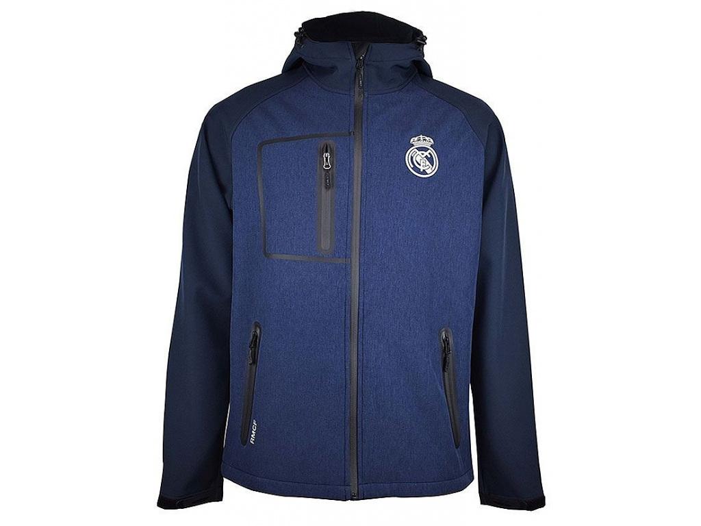 Softshellová bunda Real Madrid navy