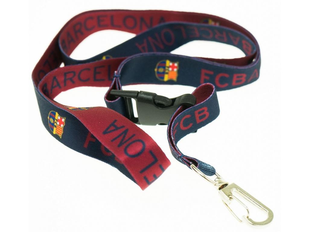Klíčenka FC Barcelona stripes