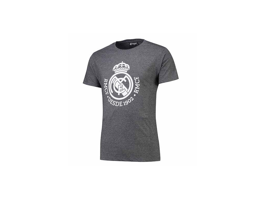 Pánské tričko Real Madrid dark melange