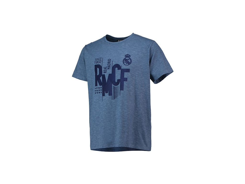 Pánské tričko Real Madrid 18 azul