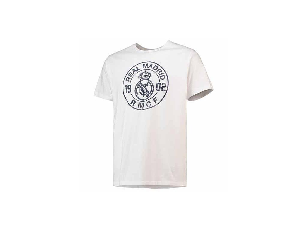 Pánské tričko Real Madrid 18 blanco