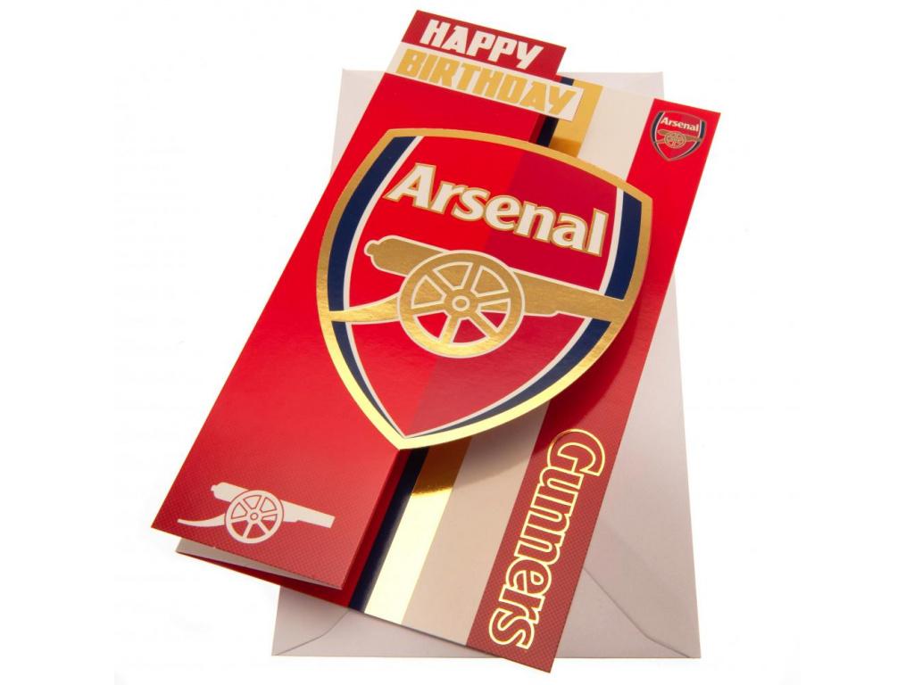 Blahopřání Arsenal FC crest