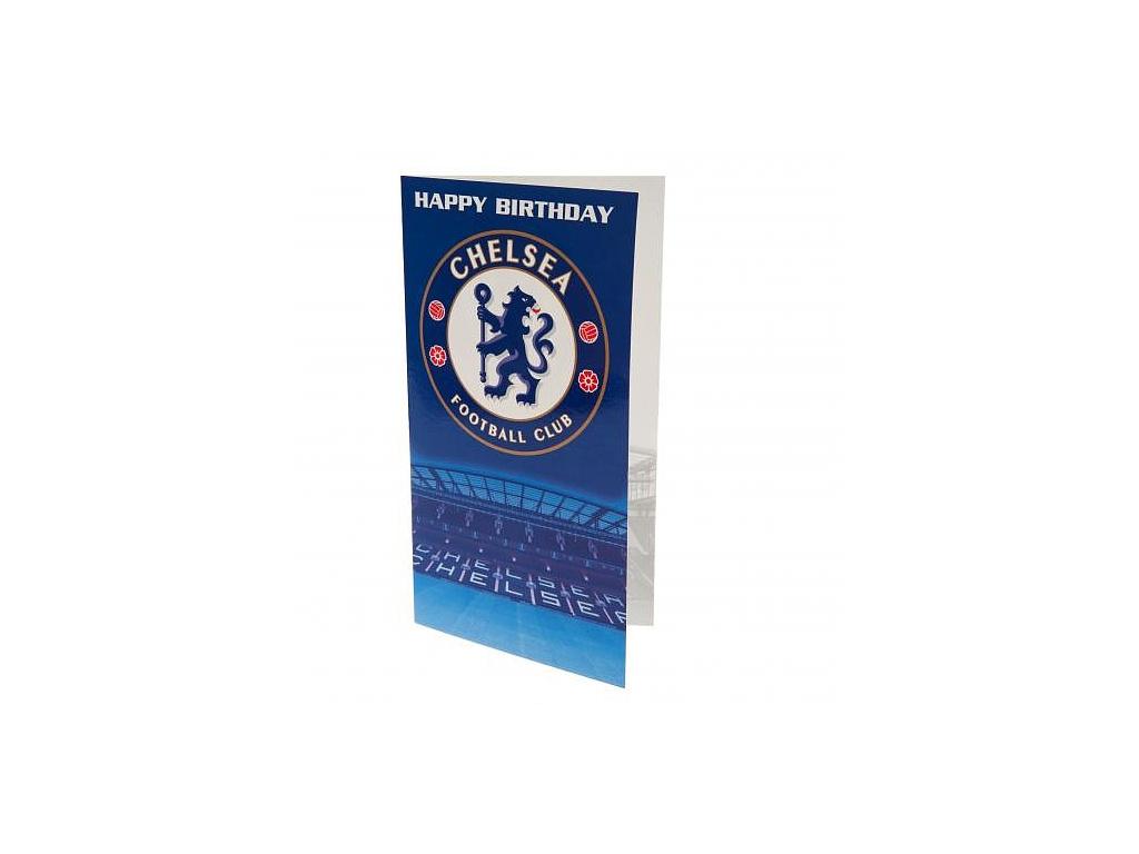 Blahopřání Chelsea FC crest