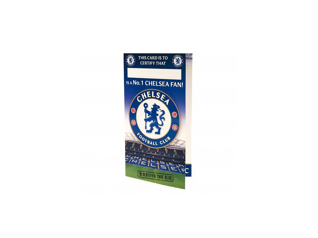 Blahopřání Chelsea FC Fan No1