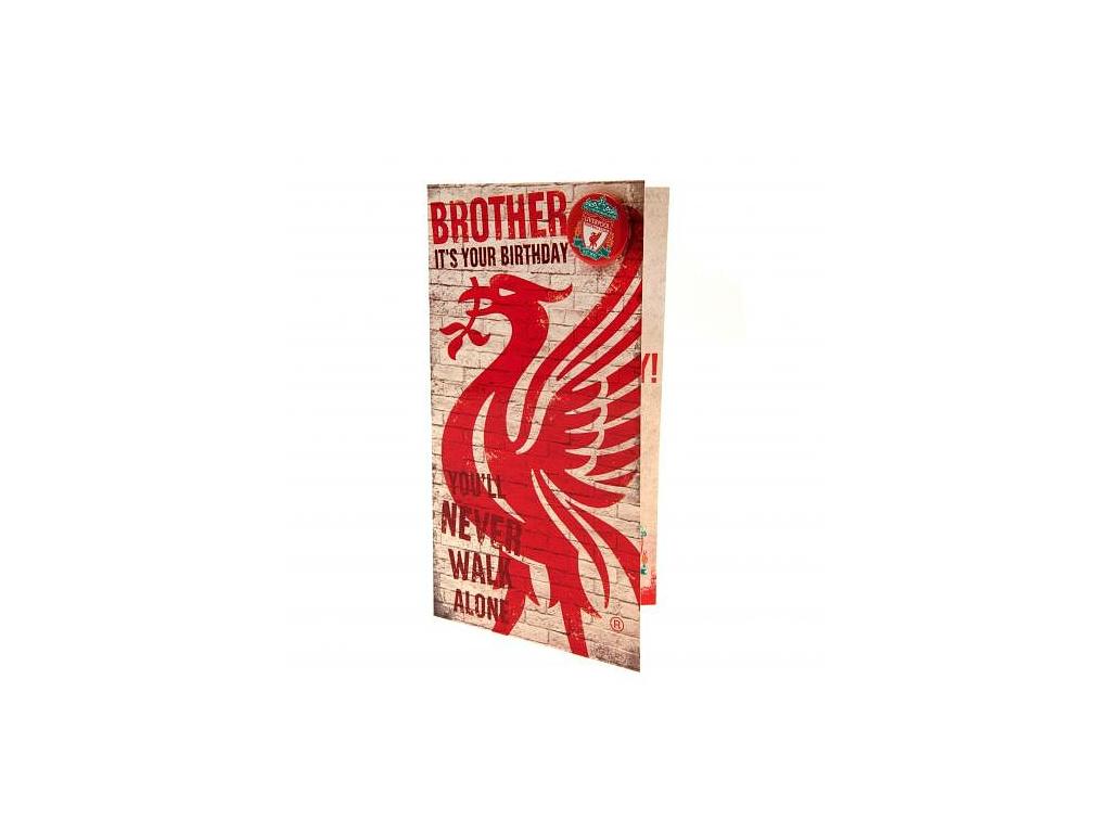 Blahopřání Liverpool FC brácha