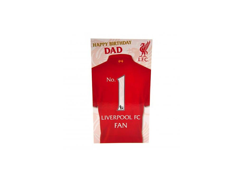 Blahopřání Liverpool FC táta