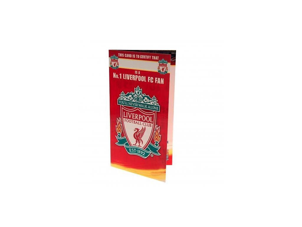 Blahopřání Liverpool FC Fan No1
