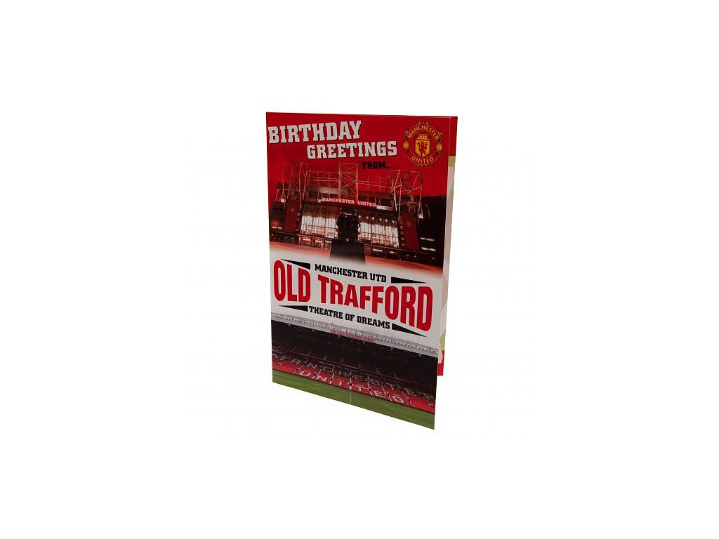 Blahopřání Manchester United pop-up