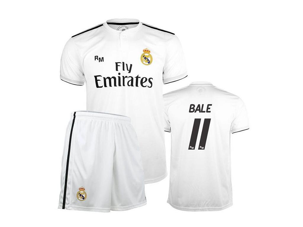 Set dres a šortky Real Madrid Bale domácí 2018/19