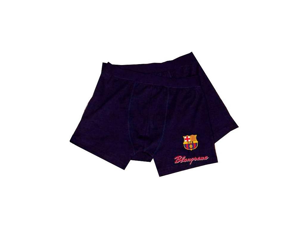 Pánské boxerky FC Barcelona 18 navy