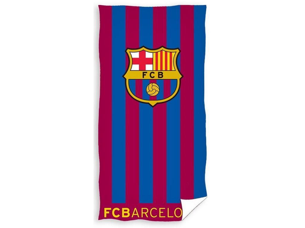 Osuška FC Barcelona 19 stripes 70x140cm