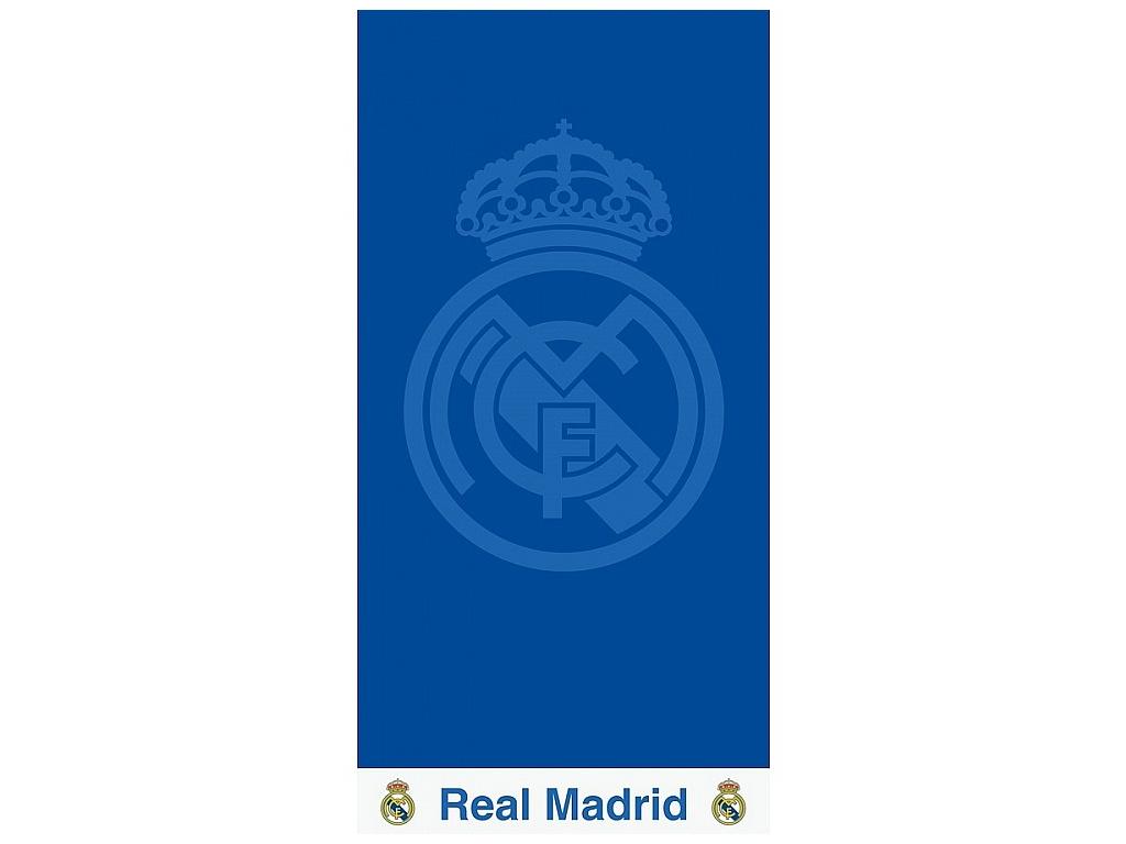 Luxusní osuška Real Madrid blue 86x160cm